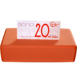 BONO 20 CLASES DE YOGA