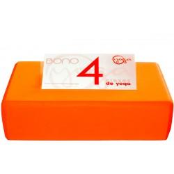 BONO 4 CLASES DE YOGA