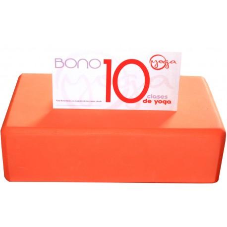 BONO 10 CLASES DE YOGA